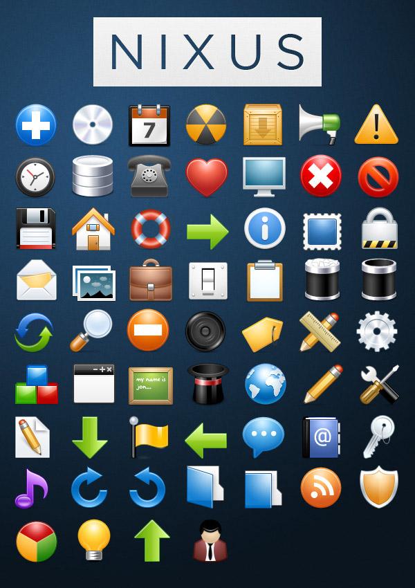 Классические иконки NIXUS