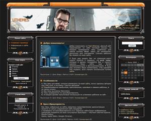 Шаблон для сайтов игр