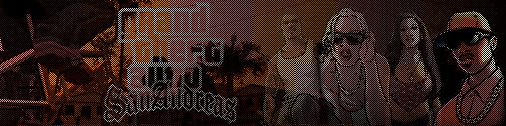 Шапка для сайта GTA San Andreas
