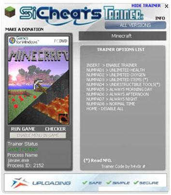 Скачать трейнер для minecraft 1.5.2