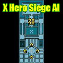 X Hero Siege с ботами