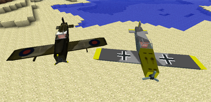 Мод на самолеты для minecraft 1.5.2